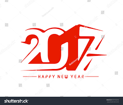 happy new year 2017 new year stock vector 507163210
