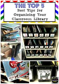Pete The Cat Classroom Decorations My Tips For Amazing Classroom Library Organization