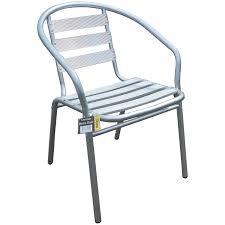 Plastic Bistro Chairs Furniture Mod Bstro Chr Stacking Bistro Chairs Aluminium Chrome