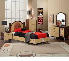 Bedroom Sets Chicago | nba basketball chicago bulls bedroom in a box have a basketball