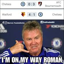 Chelsea Meme - only guus hiddink can save chelsea troll football eu facebook