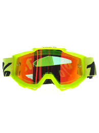 motocross goggle 100 percent fluo yellow red mirror accuri mx goggle 100 percent