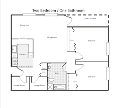 Floor Plans For A 2 Bedroom House Unbelievable 2 Bedroom Floor Plans 15 By Home Design Ideas With 2
