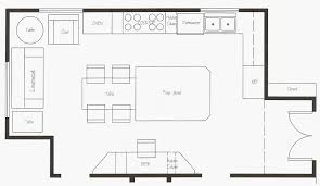 13 cool modern kitchen floor plan house and living room