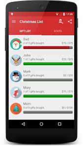 gift list christmas gift list android apps on play