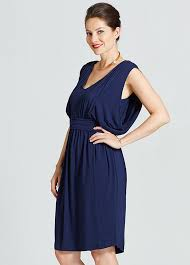 nursing dress for wedding rivers draped maternity nursing dress in navy blue by way