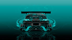 koenigsegg turquoise mazda rx8 jdm tuning back fire abstract car 2015 wallpapers el