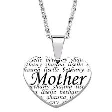 s necklace with names everscribe engraved family names heart necklace 6941426 hsn