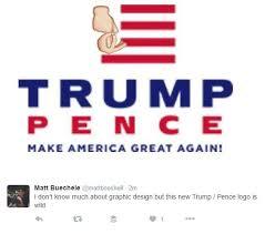 Meme Logo - donald trump mike pence logo funny memes heavy com page 2