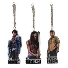 deck your halls with the walking dead ornaments