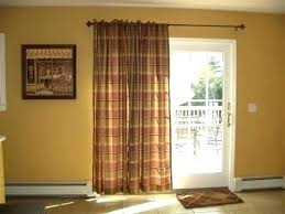 Patio Door Window Treatment Ideas Window Covering Ideas For Patio Doors Budget Blinds Woven Wood
