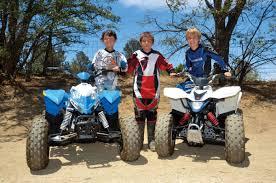 dirt wheels magazine polaris outlaw 90 vs suzuki quadsport z90