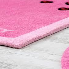 teppich kinderzimmer rosa kinder teppiche hello kinderteppich mit herzen in pink rosa