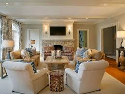Long Living Room Layout by Great Living Room Layout With Bay Window And White Wall Also Black