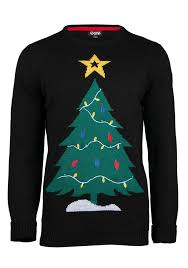 christmas tree sweater with lights men s christmas tree light up sweater