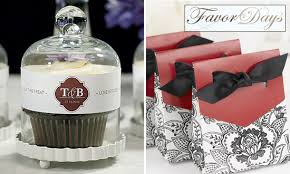 favors for wedding guests brand new wedding favors for 2012 from favor days