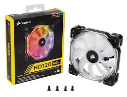 120mm rgb case fan buy case fan corsair hd series hd120 rgb led 120mm iterials
