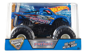 monster truck shows in nc amazon com wheels monster jam 1 24 patriot toys u0026 games