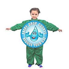 buy unisex save water costume age group 4 6 years for fancy