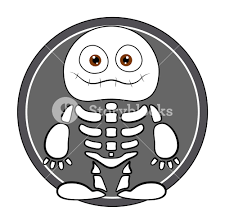 halloween vector free funny skeleton ghost halloween vector illustration royalty free