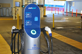 high speed electric vehicle charging station announced by hilton