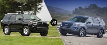 2017 toyota 4runner limited 2017 toyota 4runner vs 2017 ford explorer