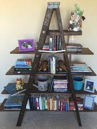 Wooden Ladder Bookshelf Plans by Build An A Frame Bookshelf With These Diy Plans This Is Really One