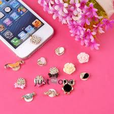 lovely home button sticker for apple iphone 4 4s 5 3gs ipad itouch