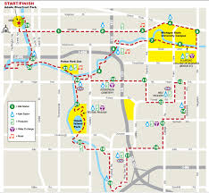 Boston Marathon Route Map by Capital City River Run World U0027s Marathons