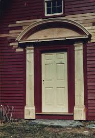 Exterior Door Pediment And Pilasters by Antique Houses Of Gloucester And Beyond The Old House At Ipswich