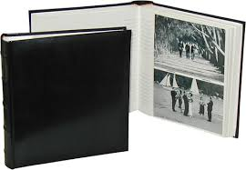 photo album with memo space classic black 7x5 slip in photo albums 200 photos