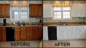 Spray Paint Sherwin Williams Painting Kitchen Cabinets Without Sanding Images Spraying With