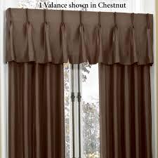 croscill newport pinch pleat look window treatment