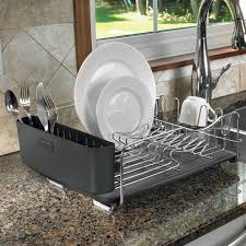 Dish Drying Rack For Sink Decor Compact Dish Drainer Rack Polder Dish Rack