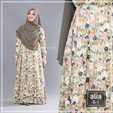 desain baju jepang gamis yasmeera alia dress g1 baju muslim wanita baju muslimah