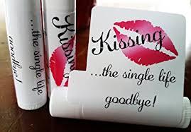 bridal party favors 12 bridal shower lip balms bachelorette party favors