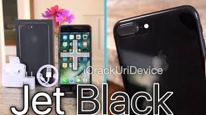 black review iphone 7 plus jet black unboxing review on