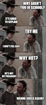 Meme Why - rick and carl long meme imgflip