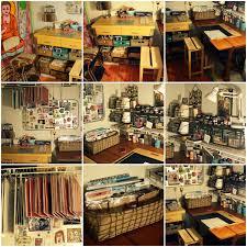 Craft Studio Ideas by Art U0026 Craft Space In A Closet Art Journaling Mixed Media Mail