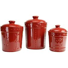 red canisters kitchen decor red canisters for kitchen farmhouse kitchens a red chalkboard