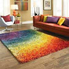 3 x 5 shag area rug colorful multicolor kids play dorm living room