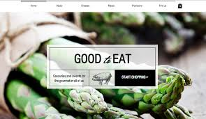 gourmet food online food drinks website templates online store wix