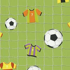 rasch football shirts goal nets sport childrens kids wallpaper 471700