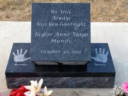 headstones for babies legacy monuments infant memorial headstone gallery made from