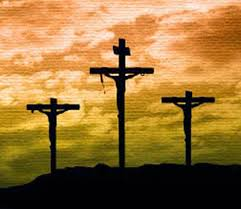 the others crucified with christ