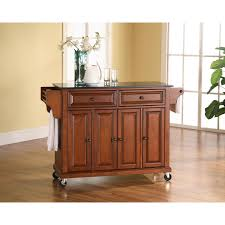 kitchen portable kitchen island with granite top carts you u0027ll