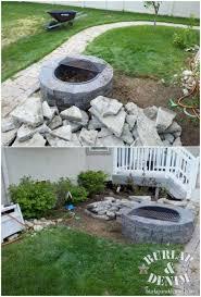 Diy Concrete Patio Recycled Concrete Patio Burlap U0026 Denimburlap U0026 Denim