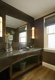 elegant masculine bathroom decor 27 with additional furniture