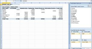 pivot tables for dummies how to create a pivot table in excel 2010 dummies