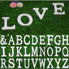 10x1 5cm thick wood wooden letters alphabet diy bridal 1 pc white wooden letters alphabet wedding birthday party home